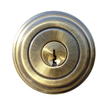 External Shield Piece of Typical Door Lock