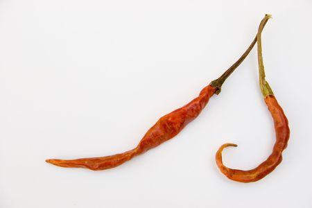 intense flavor: Hot Couple of Dry Chiles de Arbol