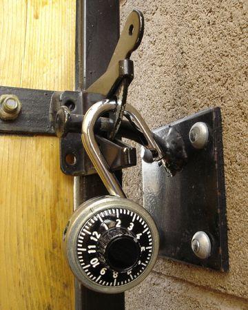 decode: Backyrd Door Lock