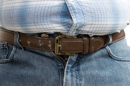 The Last Hole on the Belt - The Last Hope after Lunch Stock Photo