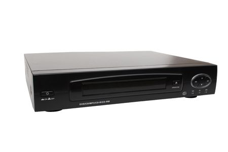 standard steel: Universal DVD-CD Player - isolated