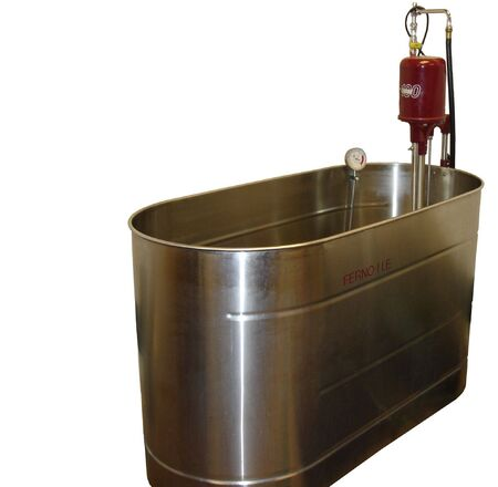 Medical Relaxing Ferno Oil Tub. Isolated. Stock Photo, Picture And ...