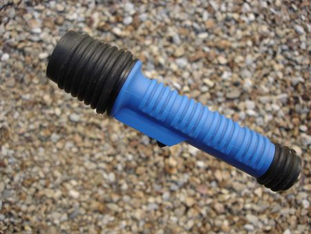 Compact Rubberized Sturdy Flashlight
