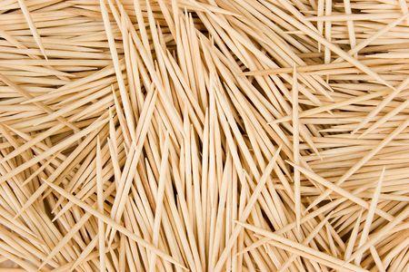 White Birch Toothpick Background