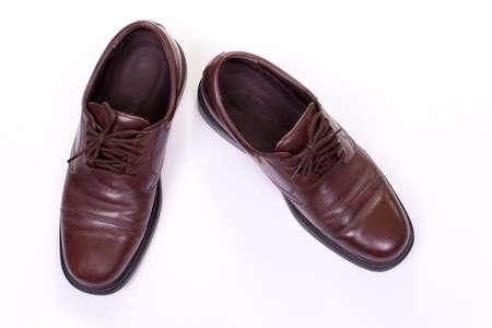 polished: Polished Business Leather Shoes Stock Photo