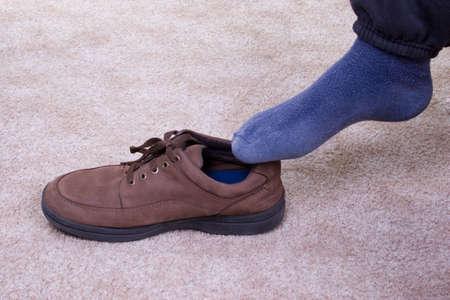 Aménagement - Foot et Soft Shoe Banque d'images - 375068