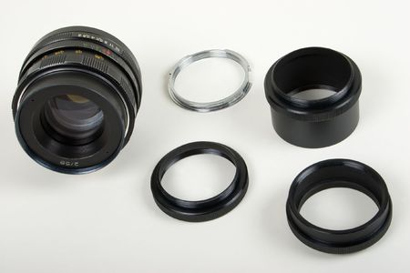 mated: Manual Lens and Screw-in Extension Tubes with Bayonet Adapter