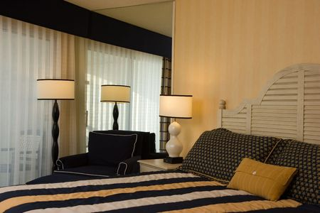 Cozy Corner in a Bedroom Stock Photo - 453579