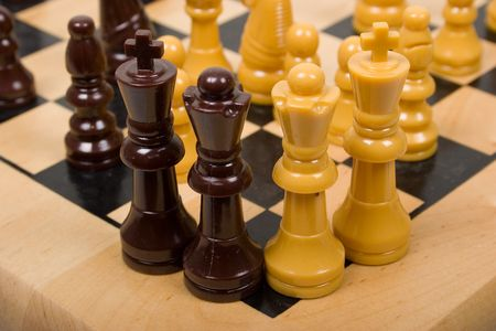 Summit on Chessboard of Top Leaders