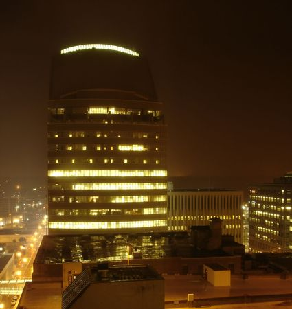 Office Building in the with Night Stock Photo - 475290
