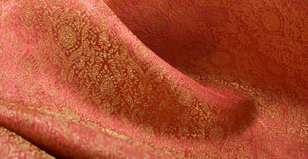 luster: Brocade Fabric; Good for Background