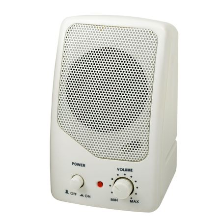 Compact Audio Speaker, isolated, pathc included Stock Photo - 511361
