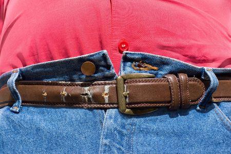 jeans apretados: Barriga última esperanza después del almuerzo