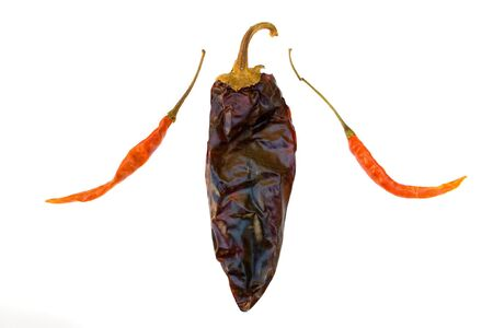 intense flavor: Chile de Arbol & California