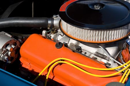 horse pipes: Classic Sports Car Engine
