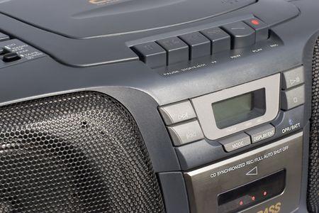 Portable Stereo CD Radio Cassette Recorder Stock Photo - 671458