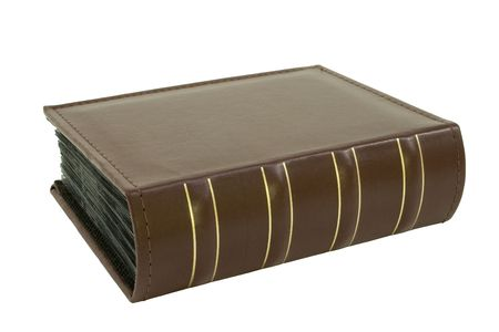 Heavy memory book; isolated, clipping path included