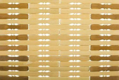trivet: Bamboo Trivet Background; close up, horizontal view