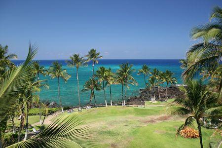 kona: Azure Hawaiian Snorkeling Beach on Kona Island