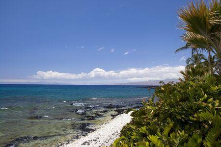 kona: Azure Hawaiian Volcanic Beach on Kona Island