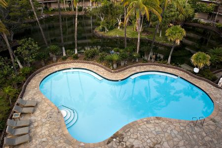 Tropical Resort Hotel with Swimming Pool photo