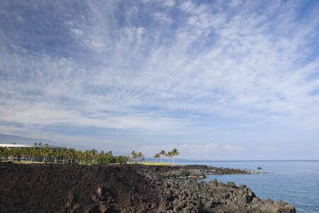 kona: Hawaiian Resort on Volcanic Coast of Kona Island