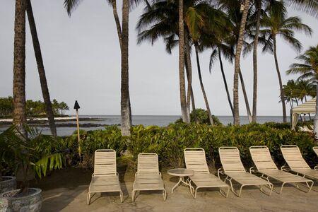 kona: Morning on Kona Island Beach