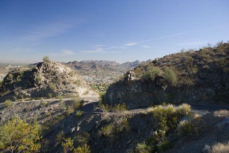 Phoenix Eastward Look from North Mountain, Arizona Stock Photo - 1886335