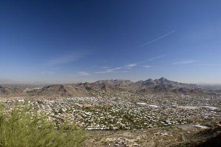 Phoenix Eastward Look from North Mountain, Arizona photo