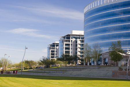 Highrise Office Buildings in Tempe Lake Park; Phoenix, Arizona