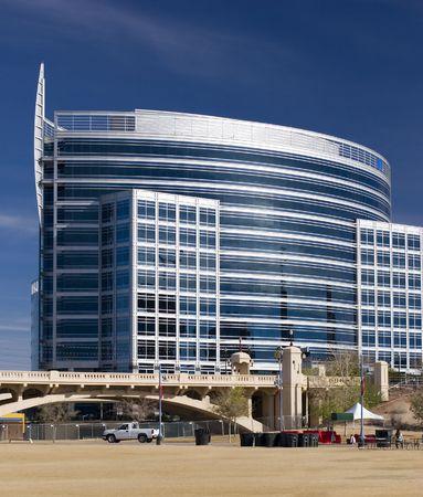 ave fenix: Highrise edificio de oficinas en el Parque el Lago Tempe, Phoenix, Arizona