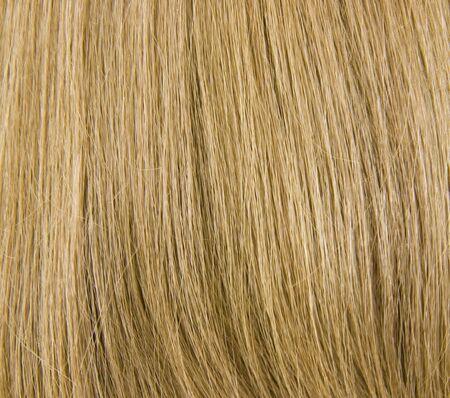 pelo casta�o claro: Antecedentes rubia natural, vista de cerca Foto de archivo