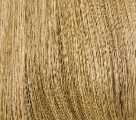 Natural Blond Hair Background; close up view Banco de Imagens