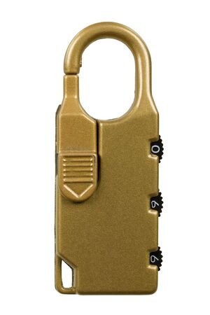 Combination Lock, isolated Stock Photo - 2646559