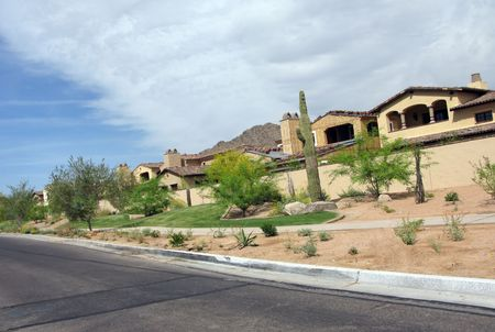 Residential Units In Phoenix, Arizona; Panorama View