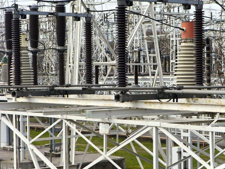 Electric Isolator Coils and Transformer at Power Generation Plant