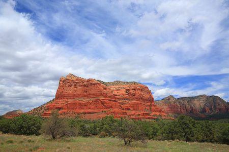 Arizona Courthouse Rock of Sedona, American Southwest,  Late Spring photo