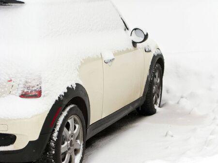 Winterized Car photo