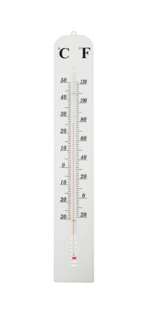 Dual Scale Thermometer with Centigrade and Fahrenheit Marks