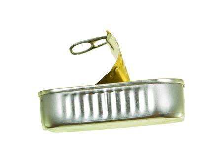 sardine can: Empty sardine can Stock Photo