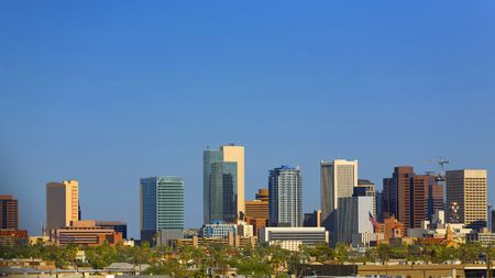 Cityscape Downtown in Phoenix, AZ