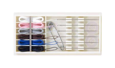 Clothing repairing kit, Stock Photo - 5936251