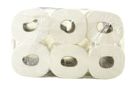Package of toilet paper photo
