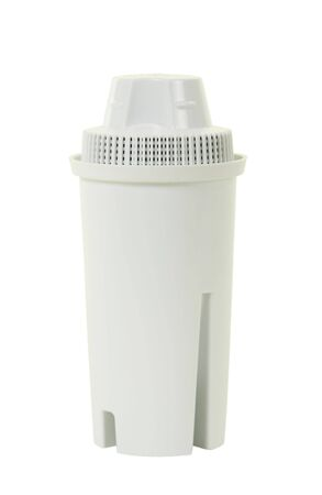 Water filter, isolated,
