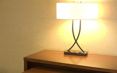 Decorative Desktop Lamp Stock Photo - 7400253