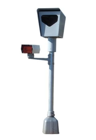 Photo radar with flash device  photo