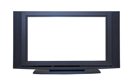 televisor: High Definition Widescreen LCD TV; isolated