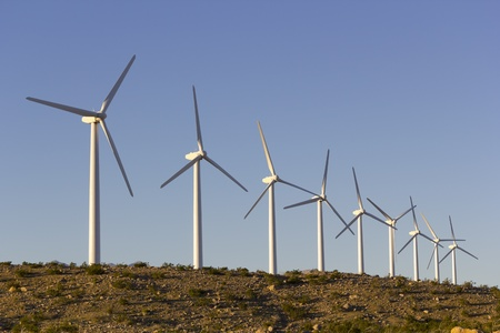 palm springs: Electric windmills, Coachella Valley, Palm Springs,  CA