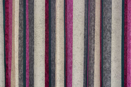 intermittent: Dyed muslin backdrop with intermittent vertical color stripes