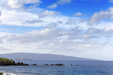 Molokini & Kahoolawe islands, Hawaii Stock Photo - 11744778